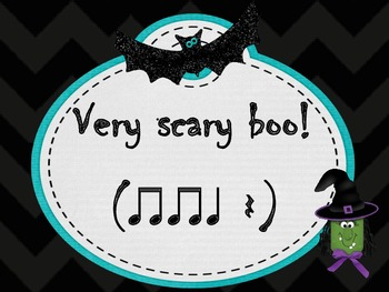 Halloween Rhythm Dictation pdf