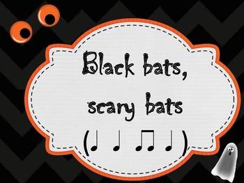 Halloween Rhythm Dictation pdf