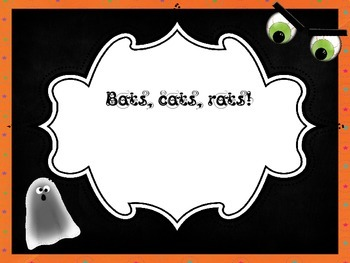 Halloween Rhythm Music Dictation with sixteenth notes!