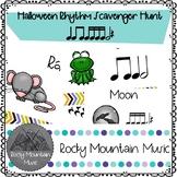 Halloween Rhythm Scavenger Hunt