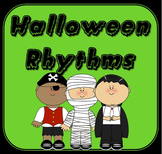 Halloween Music Activity Rhythm Word Chains