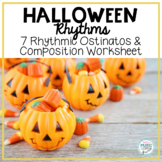 Halloween Rhythms - 7 Ostinatos & Rhythmic Composition