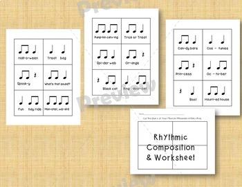 Halloween Rhythms - 7 Ostinatos & Rhythmic Composition