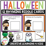 Halloween Riddle Interactive Cards