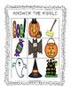 Halloween Riddles Bingo - 25 Cards - Fun and Cute!