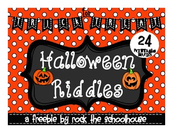 Halloween Riddles/ Jokes