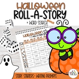 Halloween Roll-A-Story & Word Search