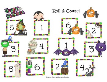 Halloween Roll & Cover 1-6 & 2-12