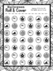 Halloween Roll & Cover Math Game FREEBIE