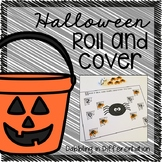 Halloween Roll and Cover Dice Game
