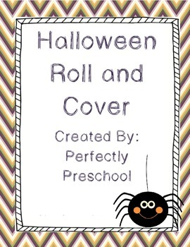 Halloween Roll and Cover {Dollar Deal}
