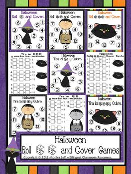 Halloween Roll and Cover Games