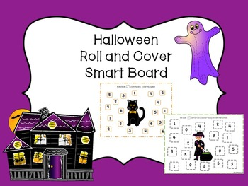 Halloween Roll and Cover SMART Board