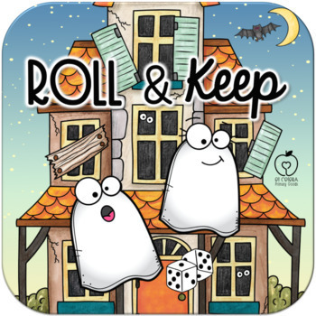 Halloween Roll and Keep Addition Dice Game