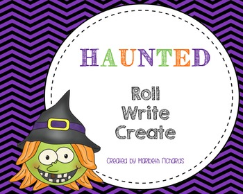 Halloween Roll and Write