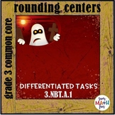 Halloween Math: Place Value Rounding, Ordering