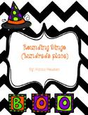 Halloween Rounding Bingo Hundreds Place