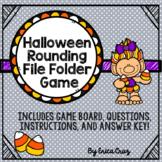 Rounding File Folder Game for Halloween