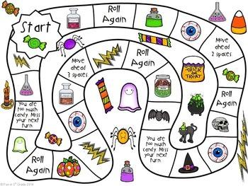 Halloween Math | Rounding FREEBIE by Fun in 5th Grade | TpT