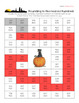 Halloween Rounding Maze Worksheets