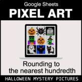 Halloween: Rounding to the nearest 100th - Google Sheets P