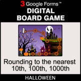 Halloween: Rounding to the nearest 10th, 100th, 1000th - D