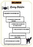 Halloween Running Dictation