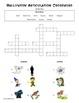 Halloween S-blends Crossword Freebie