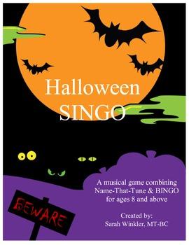 Halloween SINGO Game