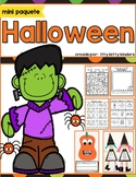Halloween Activities, Crafts, Pumpkins, Witch's Brew, in SPANISH