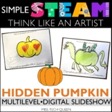 Fall STEAM Challenge - Pumpkin Art & Writing
