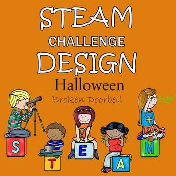 Halloween Activities - STEAM Design Challenge - Broken Doorbell