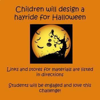Halloween STEAM Design Challenge - Haunted Hayride