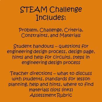 Halloween Activities - STEAM Design Challenge - Haunted Hayride
