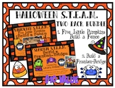 Halloween STEAM STEM Bundle *Editable Word Documents*