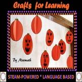 #backtoschool Halloween STEAM,STEM,Language Infused Crafts