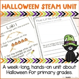 Halloween Science Unit   STEAM Centers for Primary Grades