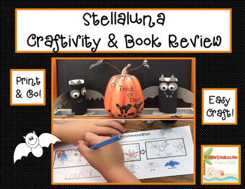 Halloween STELLALUNA Creativity and Book Review