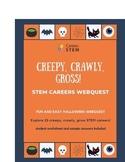 Halloween STEM Webquest & Poster Set w online activities (