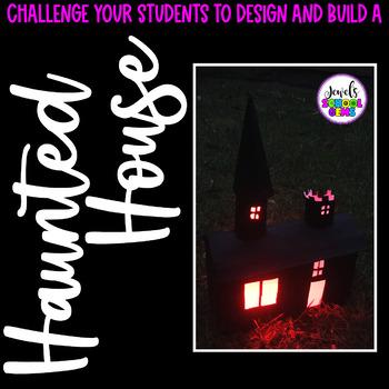 Halloween STEM Challenge (Haunted House Halloween STEM Activity)
