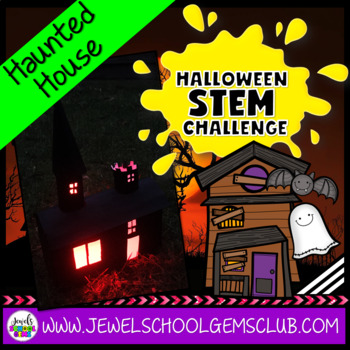 Halloween STEM Challenge (Haunted House Halloween STEM Activity)