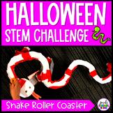 October Halloween STEM Challenge (Snake Roller Coaster Hal