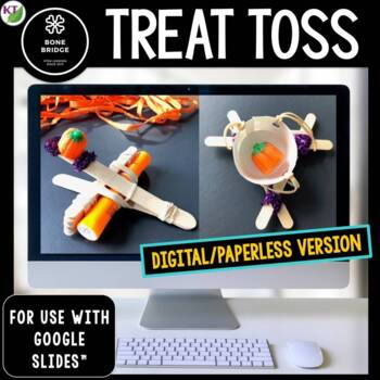 Halloween STEM Challenge Treat Toss 1:1 PAPERLESS