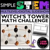 Halloween STEM Challenge Shapes