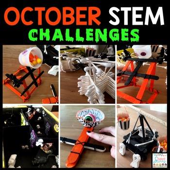 Halloween STEM Challenges - October STEM Challenges