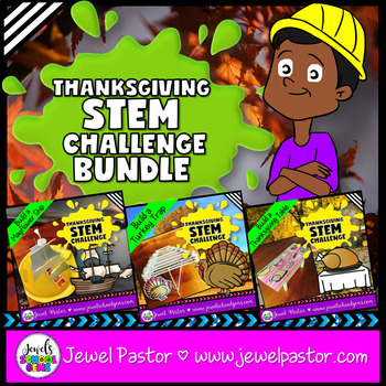 Thanksgiving STEM Challenges BUNDLE (Thanksgiving STEM Activities)