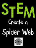 Halloween STEM: Create a Spider Web