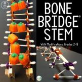 Halloween STEM Design Challenge: Bone Bridge