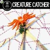 Halloween STEM Challenge: Creature Catcher Spider Web STEM