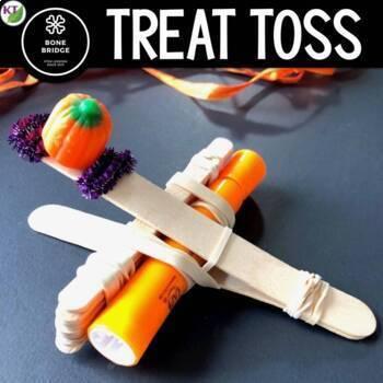 Halloween STEM Challenge: Treat Toss
